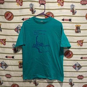 Vintage 1987 California Ultimate Frisbee Shirt L